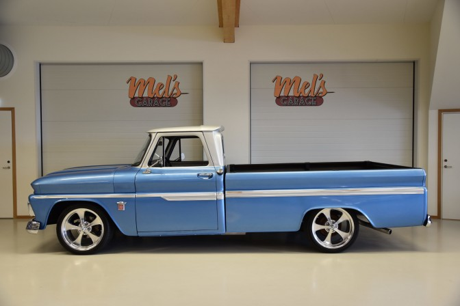 SÅLD! Chevrolet Pickup ½ ton C10 Long Bed 1964