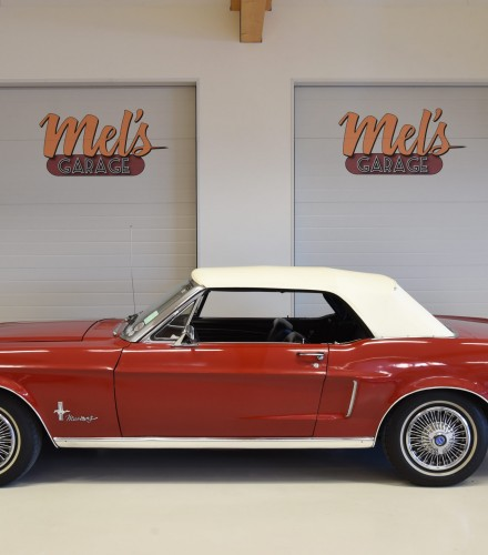 Ford Mustang 2-dr Convertible 1968-SÅLD!