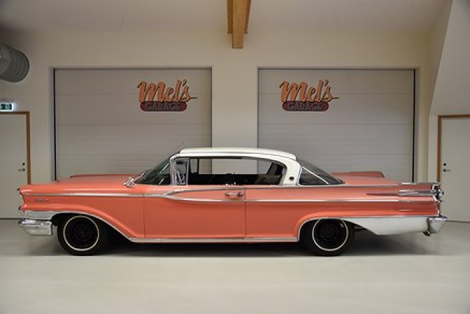 SÅLD! Mercury Monarch ll Sceptre 2-dr ht 1959