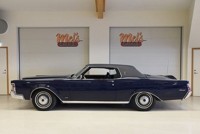 Lincoln Continental Mark lll 1970