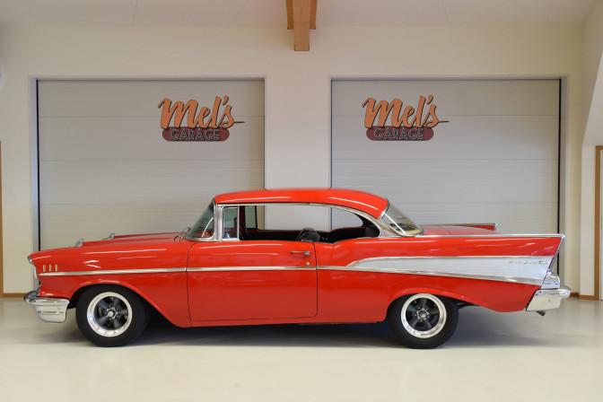 Chevrolet Bel Air 2-dr ht 1957-SÅLD!