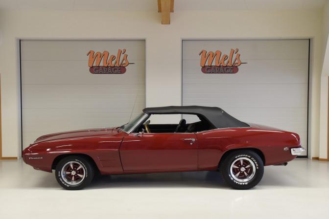 Pontiac Firebird Convertible 1969-SÅLD!