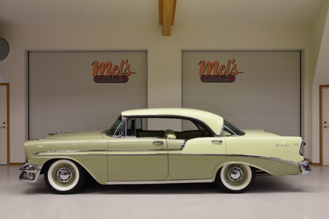 SÄLJES: Chevrolet Bel Air 4-door Hardtop 1956