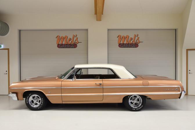 Chevrolet Impala Sport Coupe 2-dr Hardtop 1964 – SÅLD!