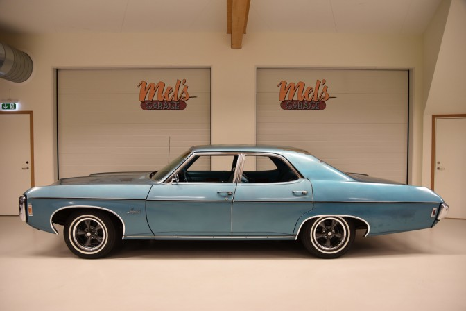 SÄLJES: Chevrolet Impala 4-dr Sedan 1969