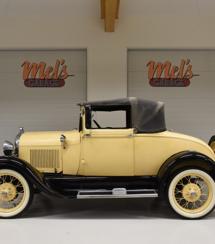 Ford Modell A Convertible 1928-SÅLD!