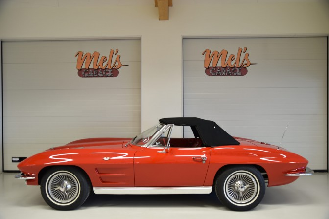 Collectors Car: Chevrolet Corvette Stingray Convertible 1963