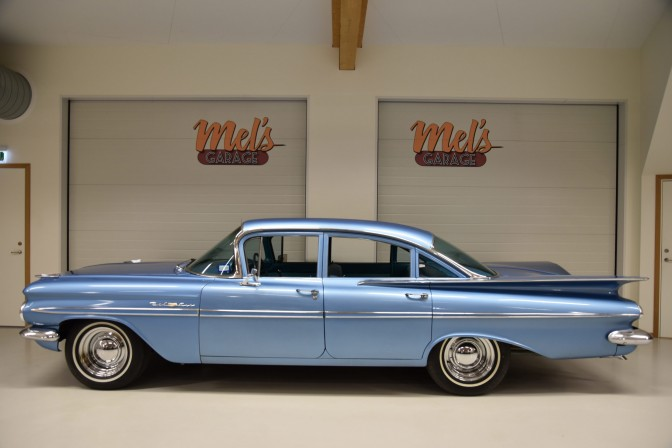 SÄLJES: CHEVROLET BEL AIR 4-DR SEDAN 1959