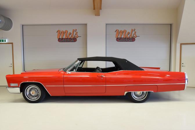 SÅLD! Cadillac De Ville Convertible 1967