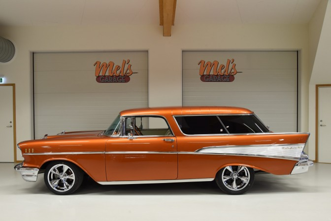 SÄLJES: Chevrolet Bel Air Nomad 2-dr Station Wagon 1957