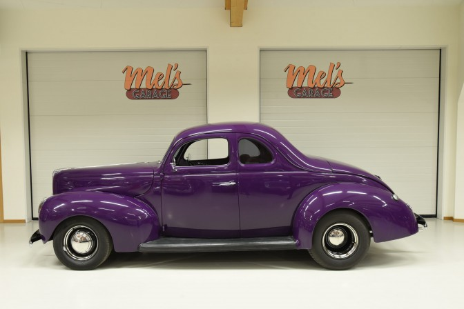 SÄLJES: Ford Coupe Deluxe 1940