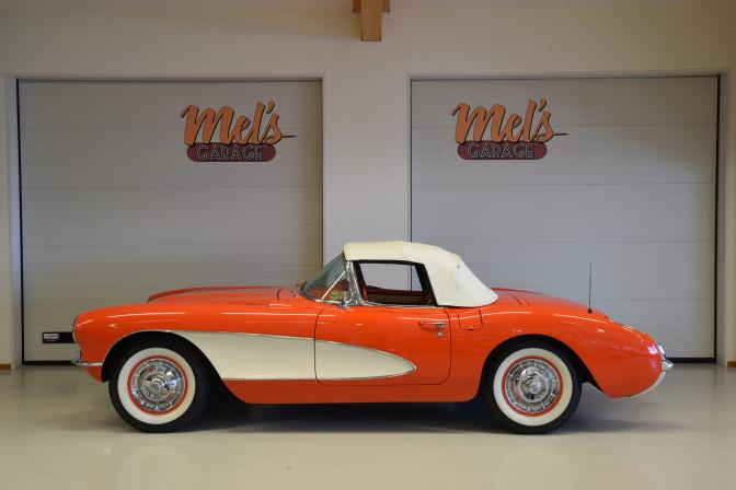 SÅLD! Chevrolet Corvette Convertible C1 1957