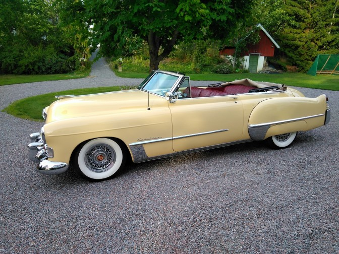 Collectors Car: Cadillac Serie 62 Convertible Coupe 1948