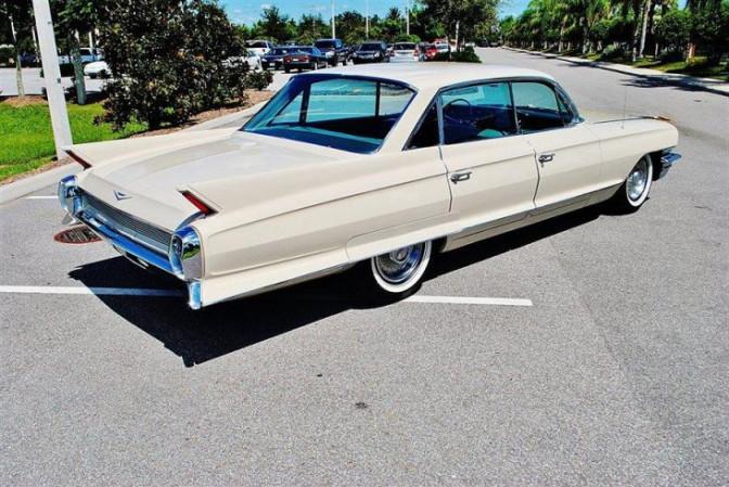 Collectors Car: Cadillac 4-dr HT 1962