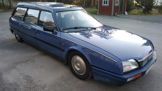 Collectors Car: Citroen CX Break 2,0 RE 1986