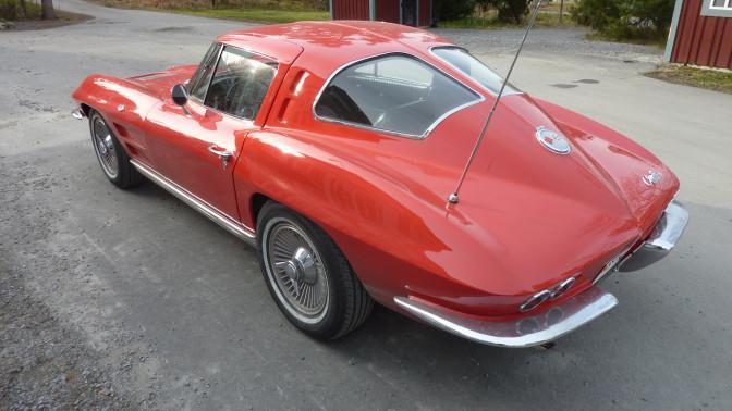 Collectors Car: Chevrolet Corvette Split Window 1963