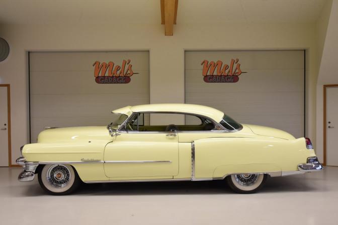 SÅLD! Cadillac Series 62 Coupe de Ville 1953