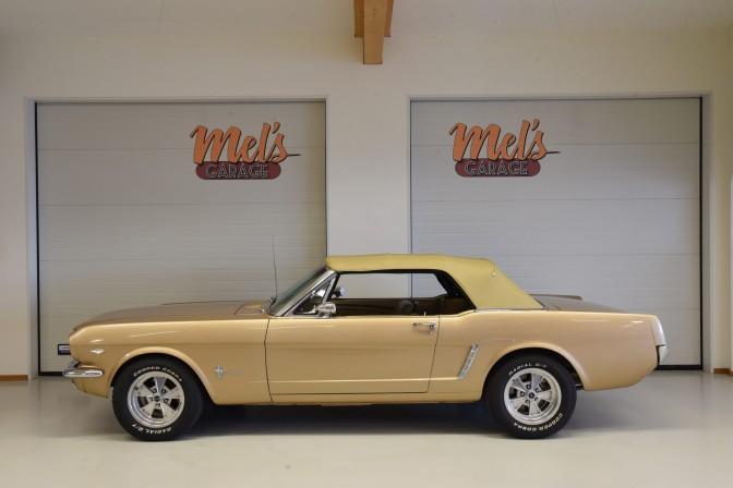 SÅLD! Ford Mustang Convertible 1965