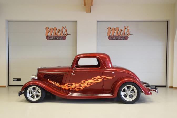 SÅLD! Ford 3-W Coupe 1934