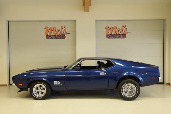 SÅLD! Ford Mustang Sportsroof Mach 1 1971