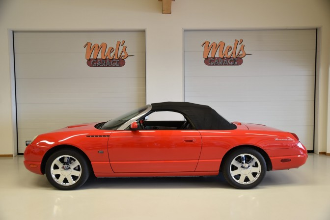 SÅLD! Ford Thunderbird Hardtop Cabriolet Roadster 2002