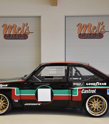 TILL SALU: FORD ESCORT MK II 1300L ZAKSPEED REPLIKA 1975