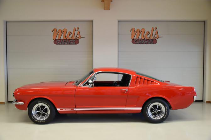SÅLD! Ford Mustang Fastback 1965