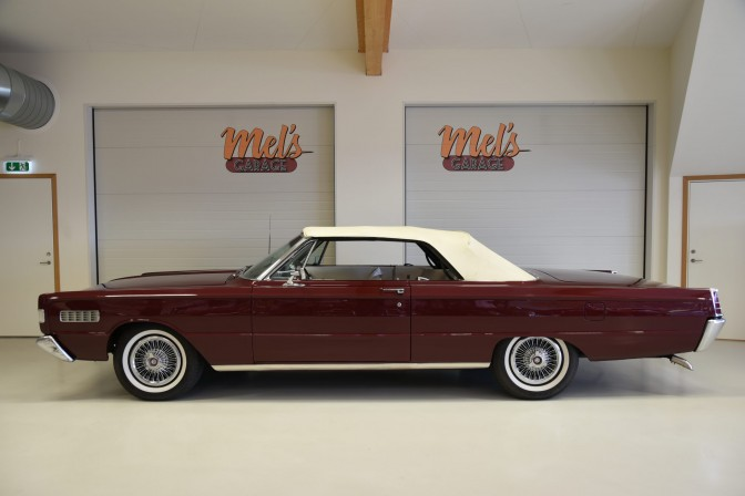 SÅLD! Mercury S55 Convertible 1966