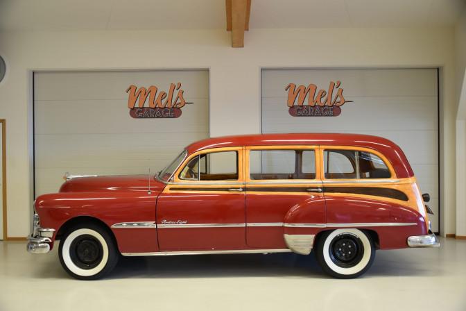 TILL SALU: Pontiac Streamline Eight Series 27 De Luxe Station Wagon 1951