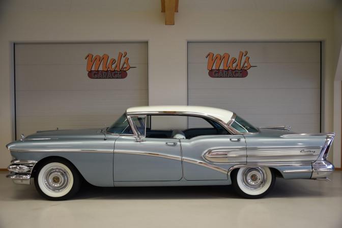 SÅLD! Buick Century Serie 60 4-dr HT 1958