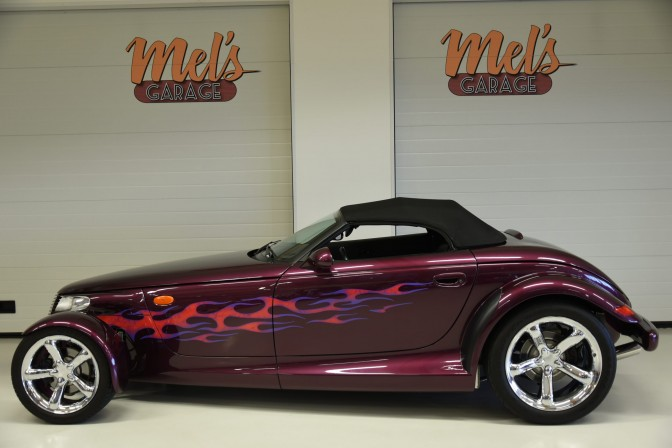SÅLD! Plymouth Prowler Cabriolet Roadster 1999