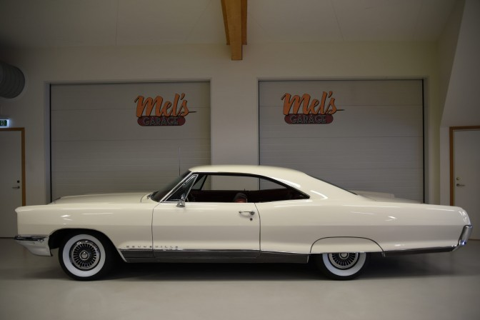SÅLD! Pontiac Bonneville 2-dr HT 1966