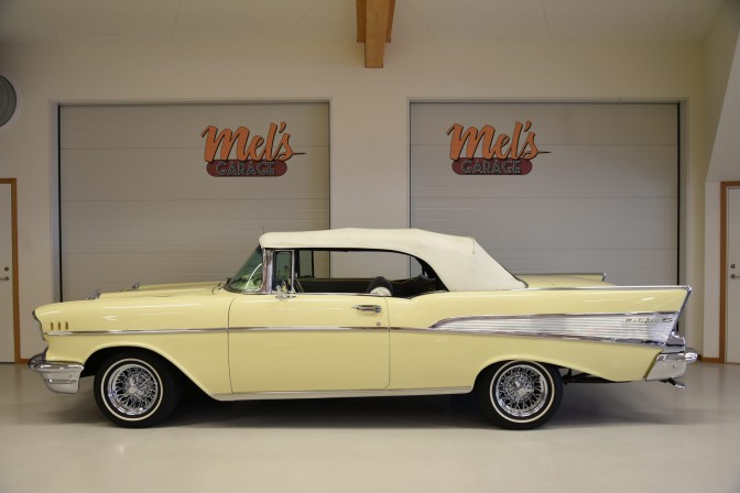 TILL SALU: Chevrolet  Bel Air Convertible 1957