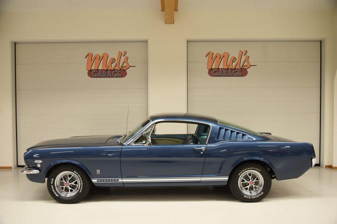 SÅLD! Ford Mustang Fastback GT K-CODE 1965