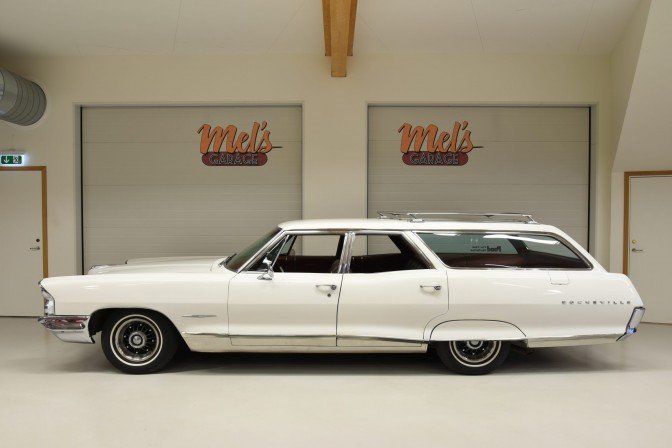 SÅLD! Pontiac Bonneville Safari Wagon 1965