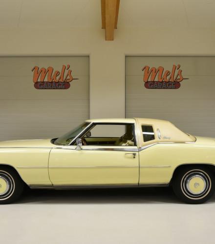 SÅLD! Cadillac Eldorado Coupe Biarritz 1978