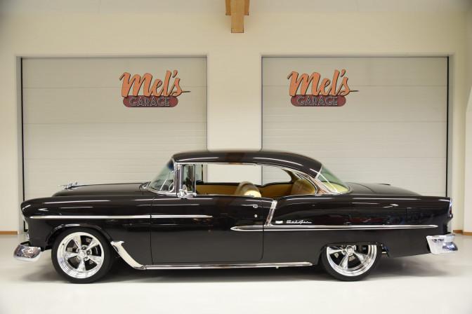 SÅLD! Chevrolet Bel Air 2-dr HT 1955