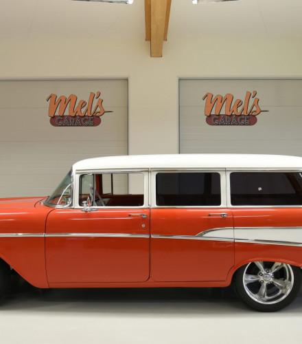 TILL SALU: Chevrolet Two-Ten 4-dr Wagon 1957