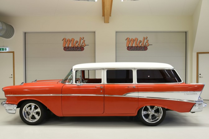 TILL SALU: Chevrolet Two-Ten 4-dr Wagon 1957