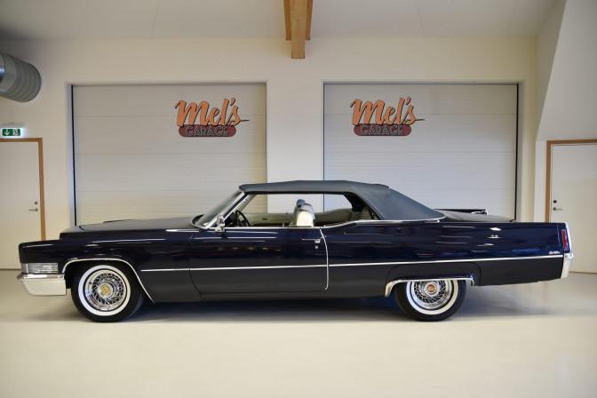 SÅLD! Cadillac DeVille Convertible 1970