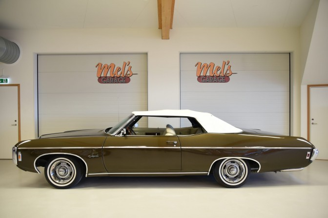 SÅLD! Chevrolet Impala Convertible 1969