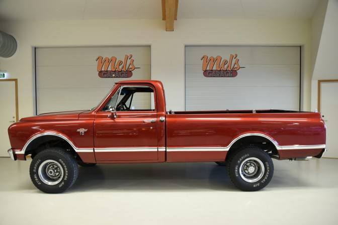 TILL SALU: Chevrolet Pickup C10/K10 4×4 ½ ton Fleetside 1967