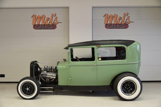 SÅLD! Ford Tudor Original Henry Steel 1929