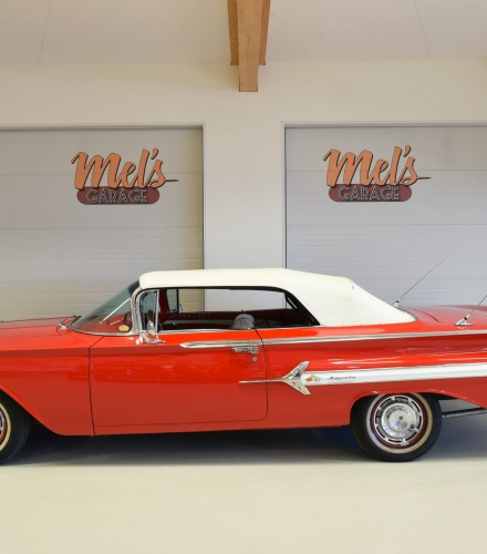 TILL SALU: Chevrolet Impala Convertible 1960