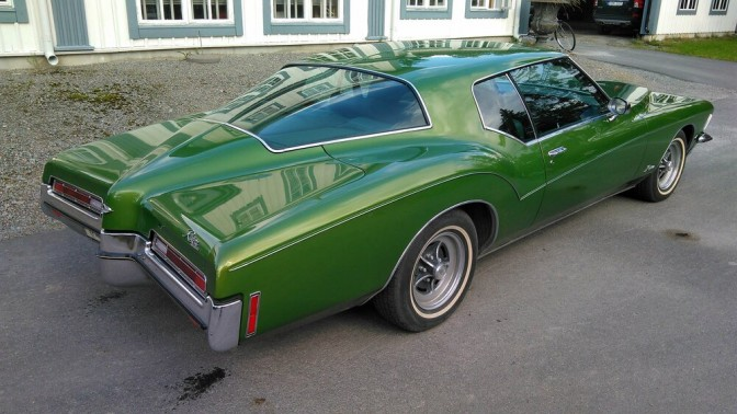 Collectors Car: Buick Riviera Boattail Superskick 1972.