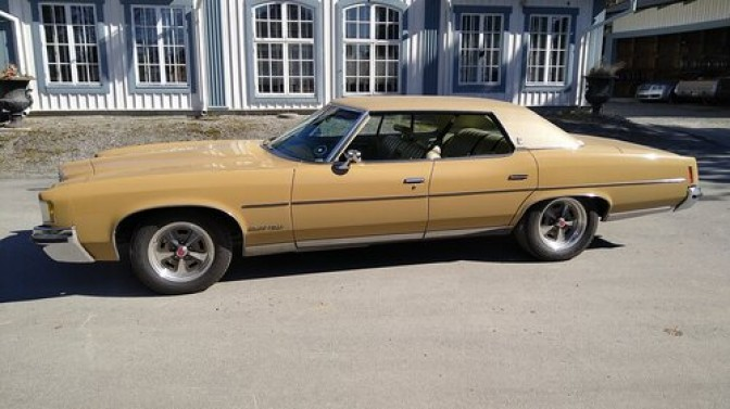 COLLECTORS CAR: Pontiac Grand Ville 4-dr HT V8 Automat 1972.