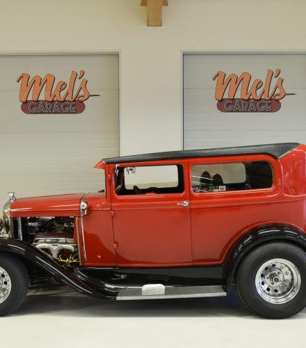 SÅLD! Ford Tudor 1931 original Henry Steel