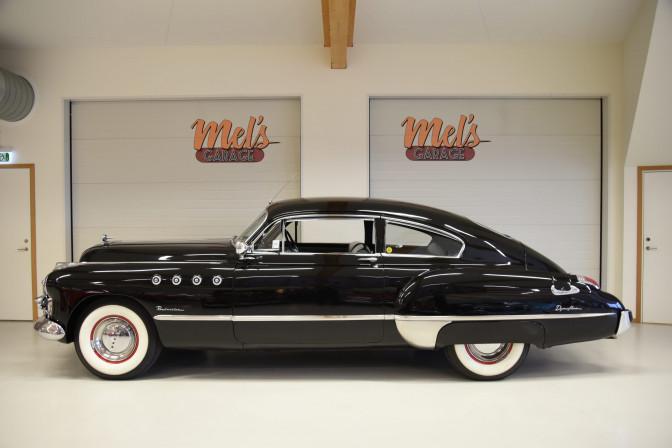 SÅLD! Buick Roadmaster Sedanette 1949