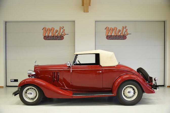 SÅLD! Chevrolet Master Convertible 1933