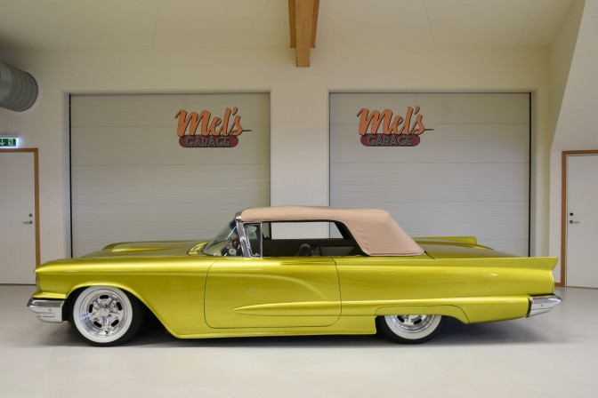 SÅLD! Ford Thunderbird Convertible Custom 1959